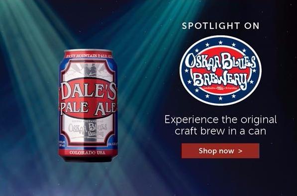 Total Wine & More - Oskar Blues Spotlight, July 2016