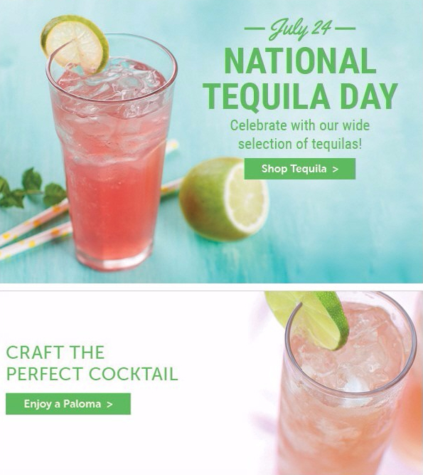 Total Wine & More - National Tequila Day, July 2016