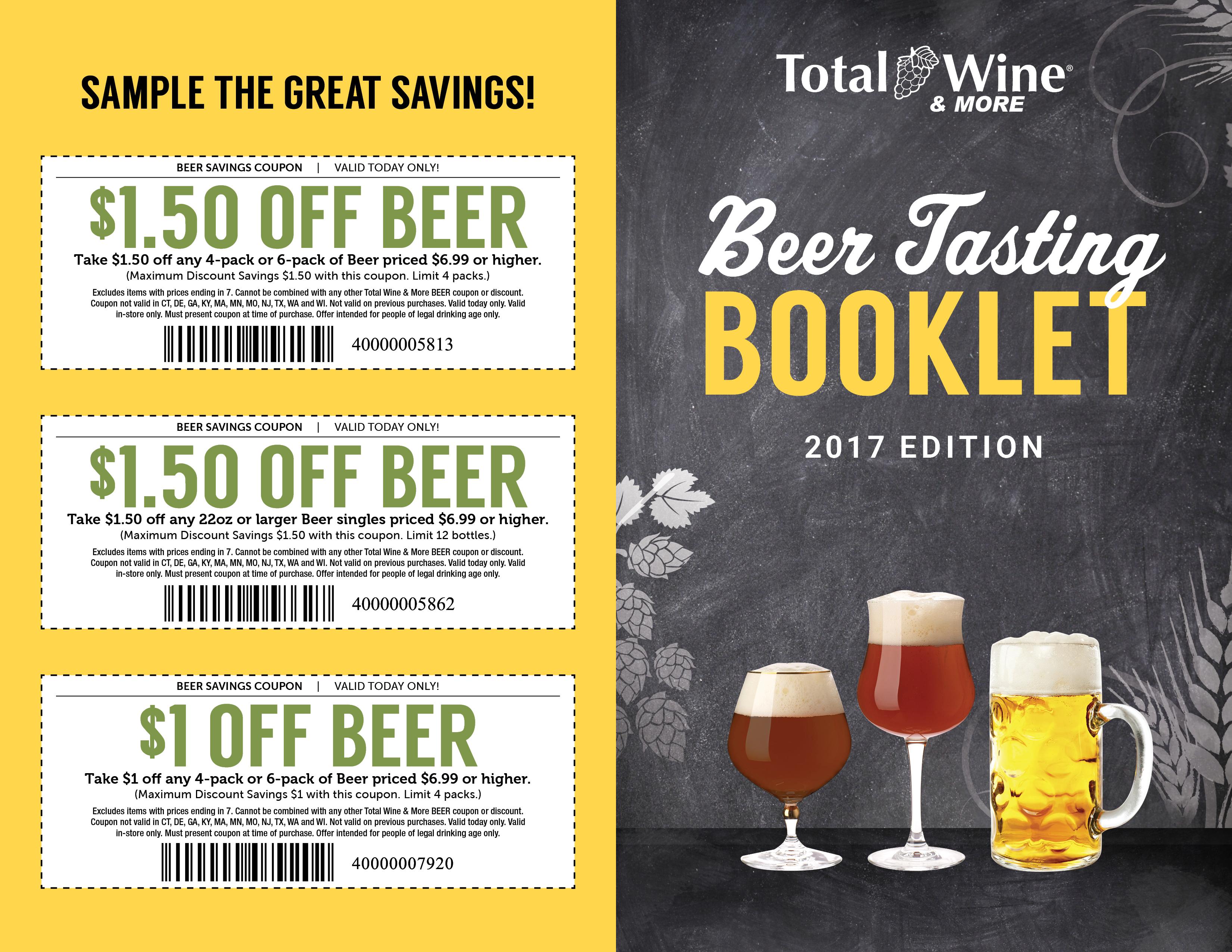 2017_Beer Tasting Booklet