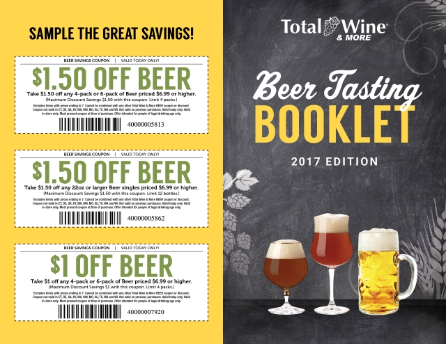 2017_Beer Tasting Booklet