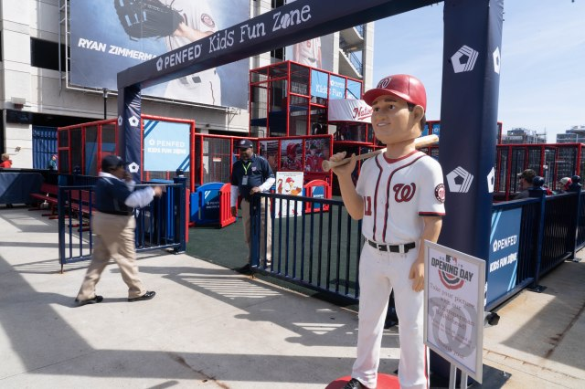 PenFed Credit Union – Kids Fun Zone at Nationals Park in Washington, DC