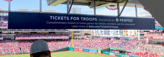 PenFed Credit Union – Military Appreciation Section at Nationals Park in Washington, DC